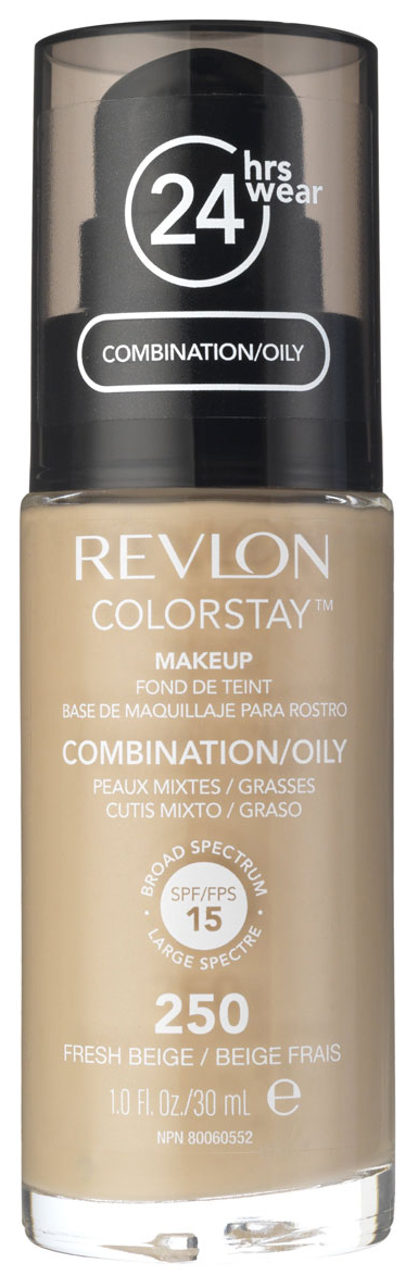 Тональный крем Revlon Colorstay Makeup For Combination-oily Skin 250 Fresh beige 30 мл