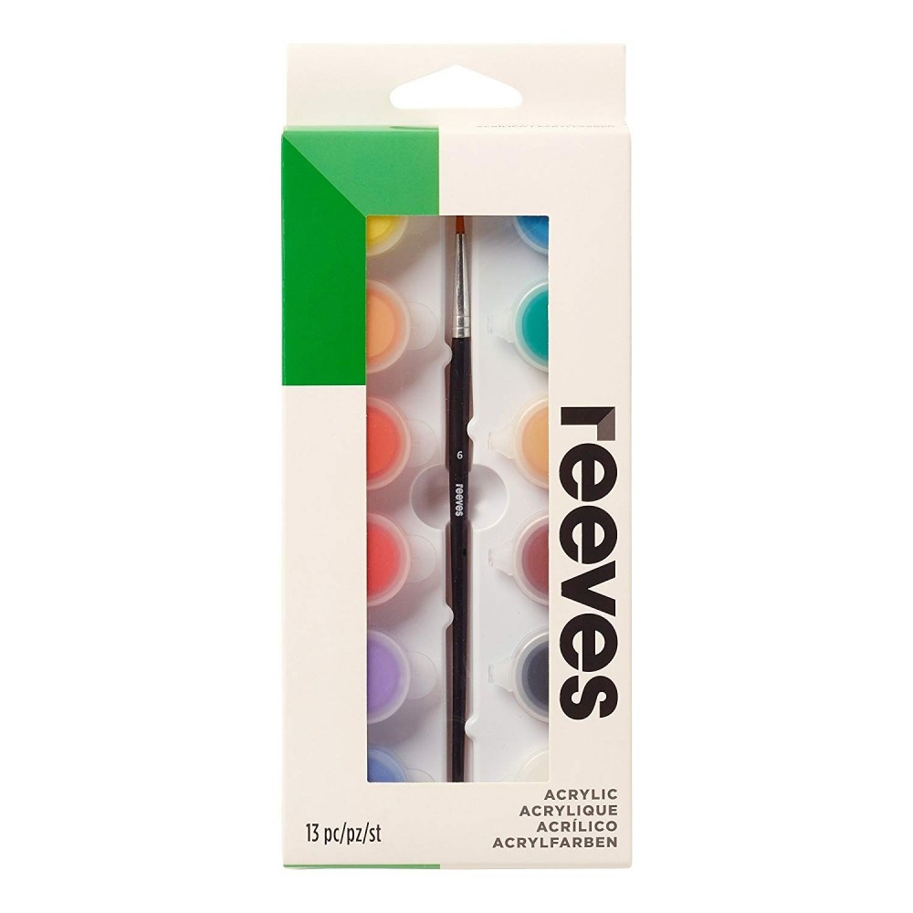 Акриловые краски Reevs 12 цветов 5 мл