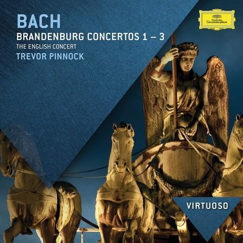 Аудио диск Pinnock, Trevor Bach: Brandenburg Concertos Nos.1-3