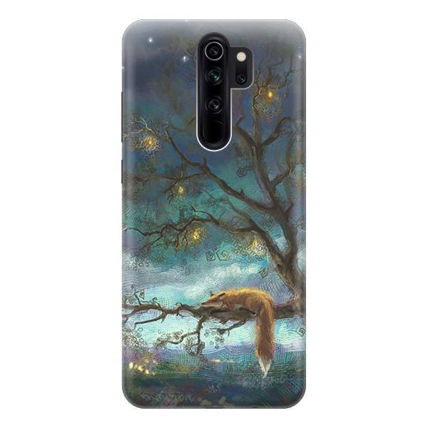 Чехол Gosso Cases для Xiaomi Redmi Note 8 Pro «Лиса на дереве»