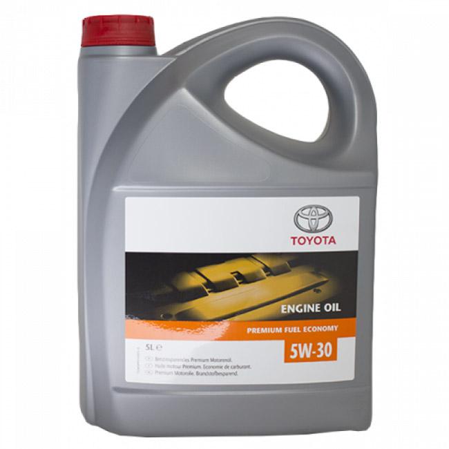 Моторное масло Toyota Engine oil 5W-30 5л