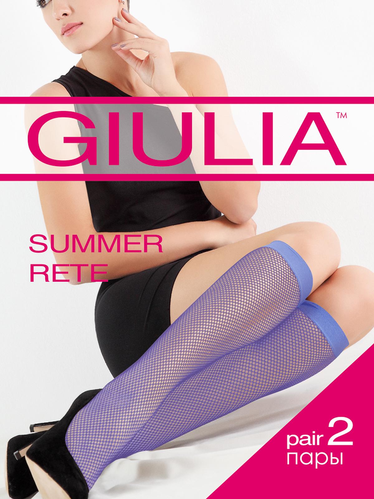 Гольфы женские Giulia синие UNI