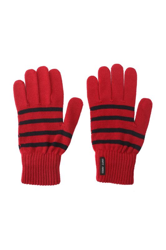 Перчатки мужские Saint James 9048 красные