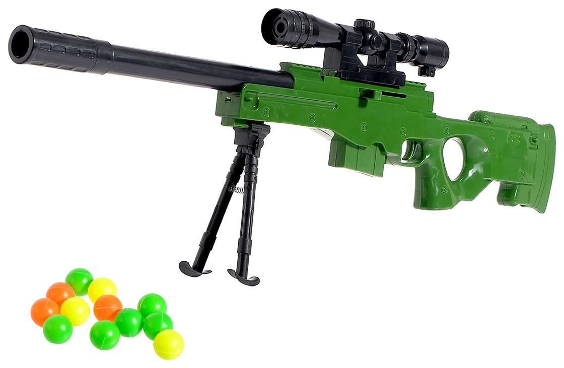 Купить Винтовка «Тропический снайпер», стреляет шариками Sima-Land, Стрелковое игрушечное оружие