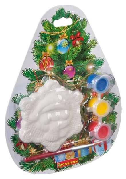 Купить Набор для творчества Bondibon ёлочные украшения снежинка вв2171, Рукоделие