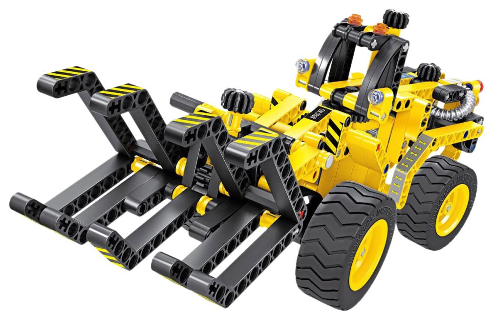 Купить Конструктор 2 в 1 (трактор и багги) QiHui Technics 342 детали QiHui QH6804, Конструкторы пластмассовые