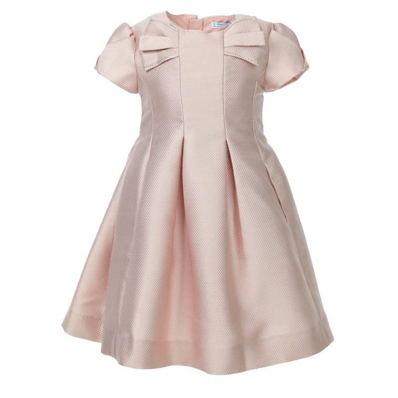 Платье MAYORAL, цв. розовый, 128 р-р, Детские платья и сарафаны  - купить со скидкой