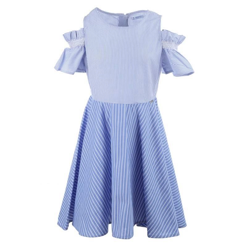 Купить Платье MAYORAL, цв. голубой, 140 р-р, Детские платья и сарафаны