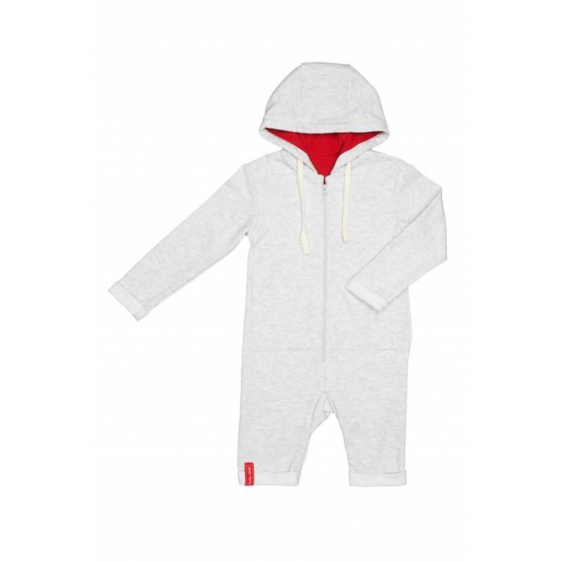 Комбинезон детский Lucky Child, цв. серый, 98 р-р