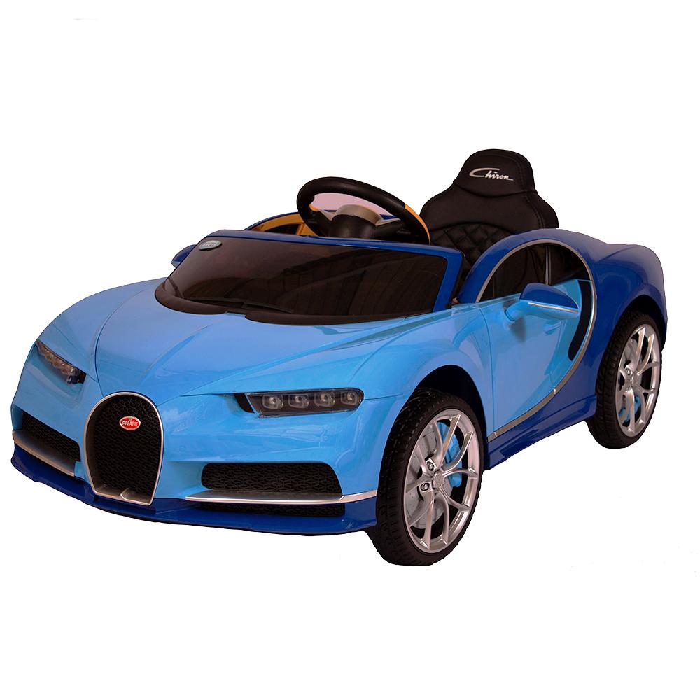 Купить Детский электромобиль Barty Bugatti Chiron HL318 (Лицензия), Синий, Электромобили