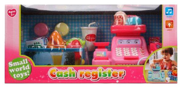 Игровой набор Наша игрушка Кассовый аппарат 16 предметов