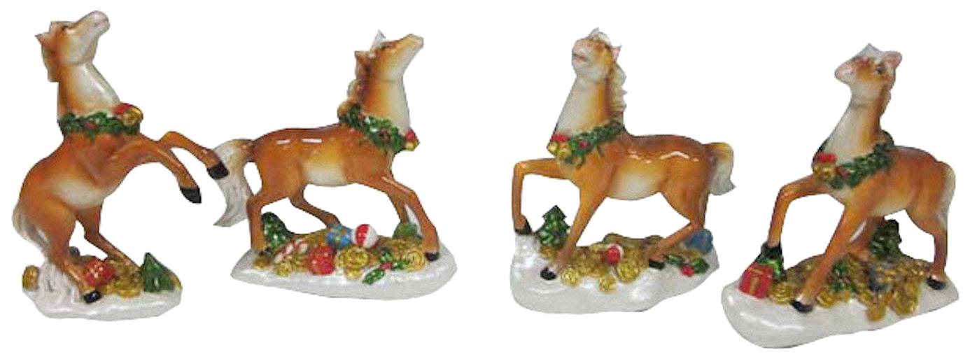 Купить Фигурка лошадь 10.0*3.8*11.5 см 4в., Snowmen,