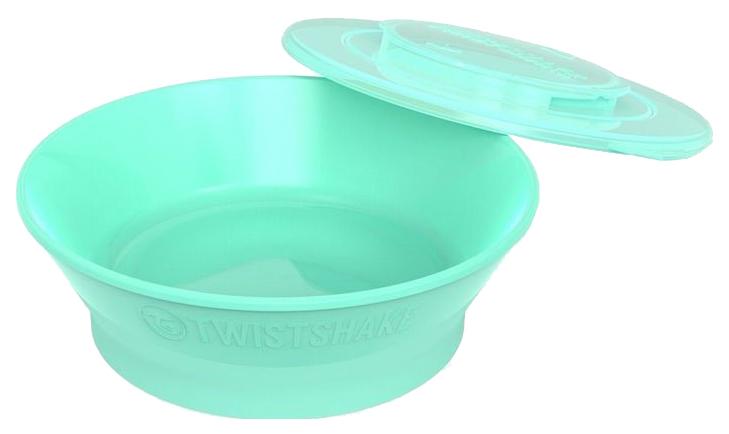 Миска Twistshake, цвет: пастельный зеленый (Pastel Green)