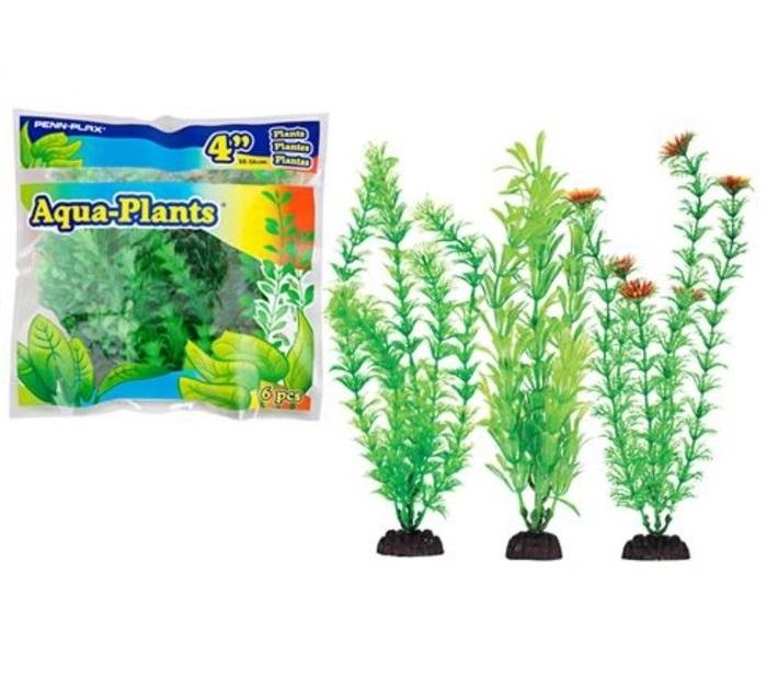 Набор пластиковых растений Penn Plax Aqua Plants Green,