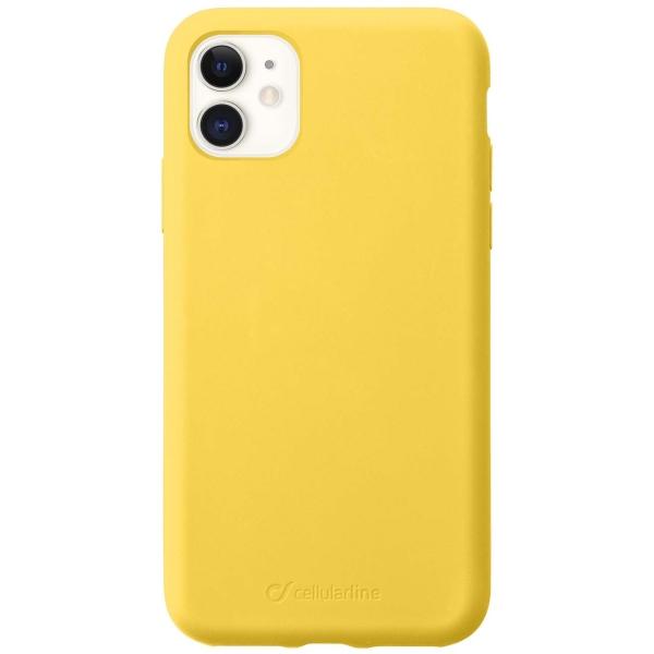 Чехол Cellular Line Sensation для Apple iPhone 11 Yellow