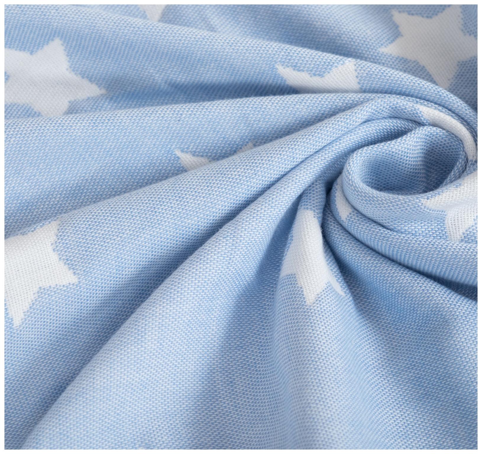 Одеяло детское Крошка Я Голубые звёзды 110×140