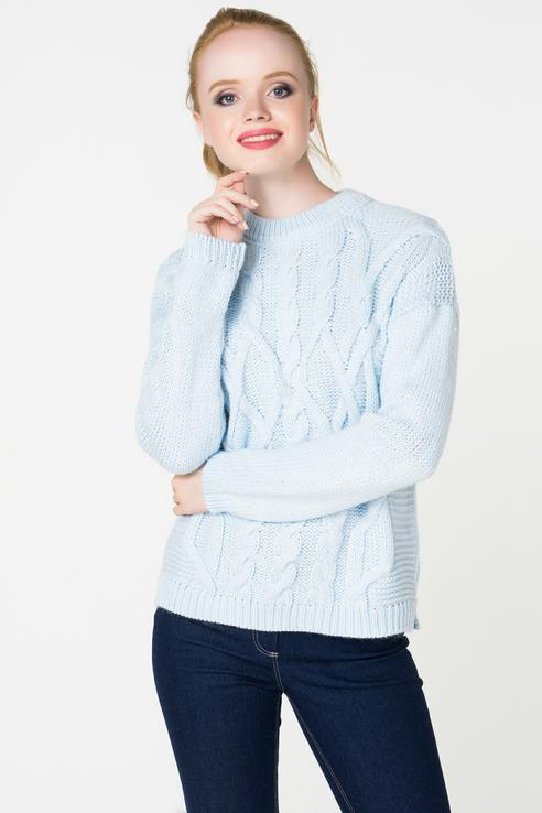 Джемпер женский Baon B138625 голубой L