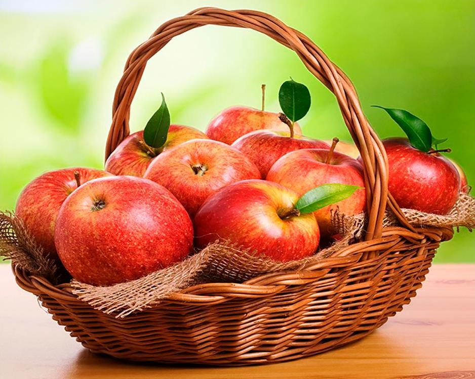 """Алмазная вышивка Алмазное Хобби """"Наливные яблочки"""", 40x50 см"""