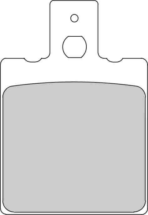 Тормозные колодки передние/задние Ferodo FDB207P для мотоциклов