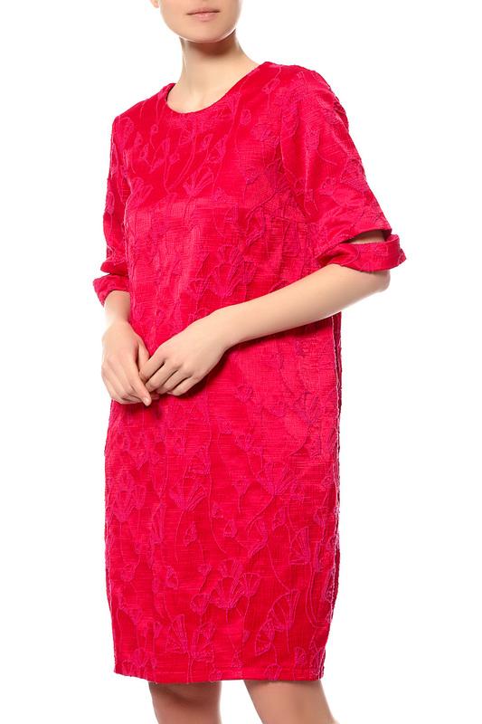 Платье женское Stefanel JV003D71959 470 красное 42 IT фото