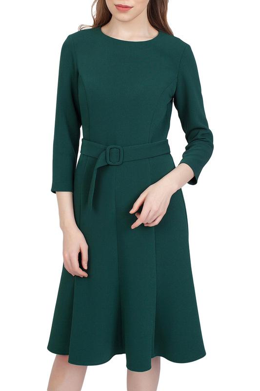 Платье женское SERGINNETTI 5-2439-4187-54 зеленое 44 RU фото