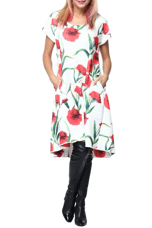 Платье женское KATA BINSKA ANI 2902 белое 46-48 EU фото