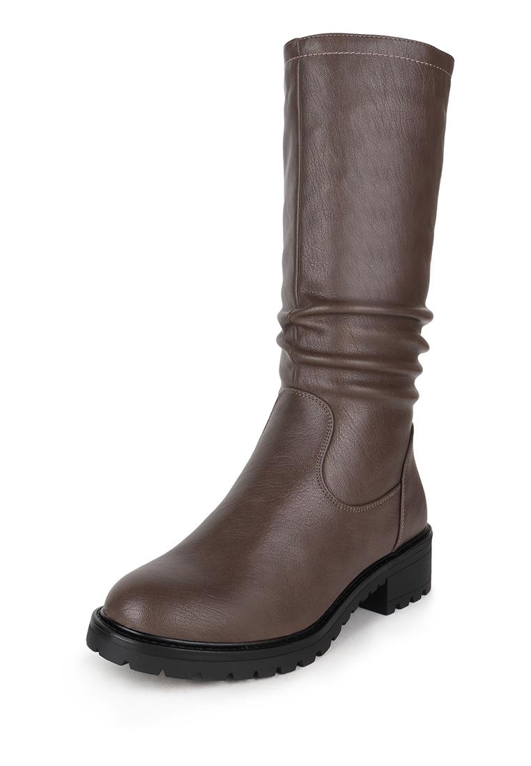 Полусапоги женские T.Taccardi 710018496 коричневые 37 RU