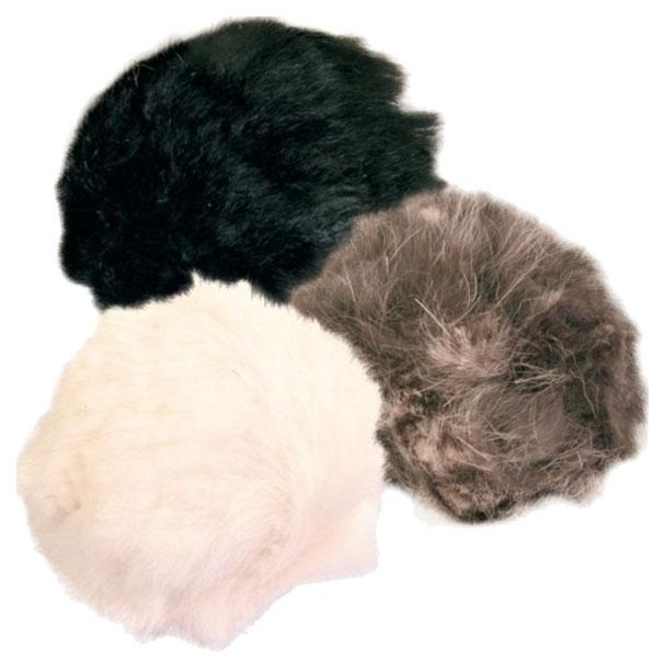 Игрушка для кошек Trixie меховой мяч, диаметр