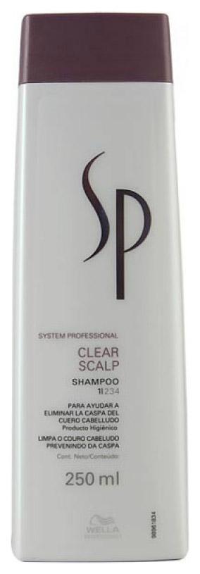 Купить Шампунь Wella System Professional Clear Scalp Shampoo 250 мл, SP Clear Scalp Shampoo, Wella SP