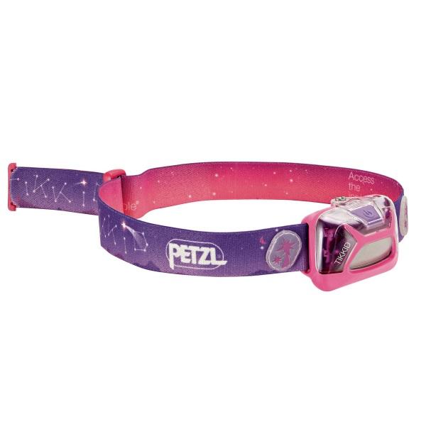 Туристический фонарь Petzl Tikkid E091BA01 розовый, 3 режима фото