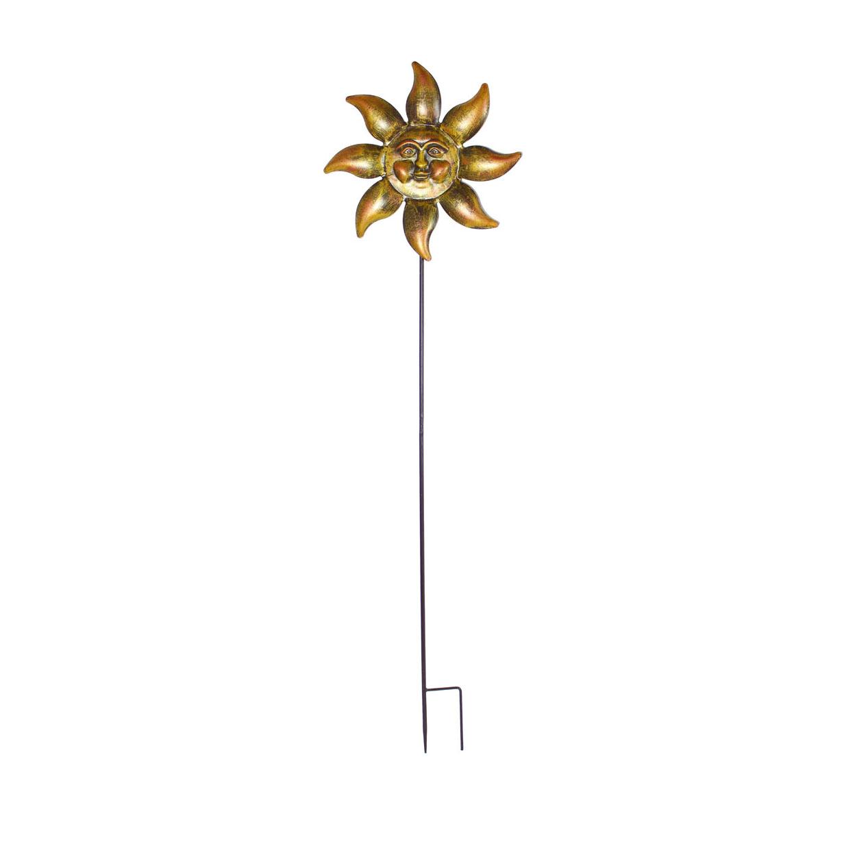 Декоративный садовый штекер 'Солнце' (05595)