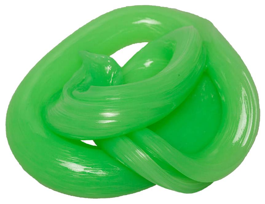Купить Игрушка антистресс Волшебный мир Nano gum светится зеленым 25 г, Жвачка для рук