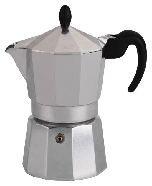Кофейник Lagostina 010320200403 Серебристый, черный 010320200403 (3 чашки)
