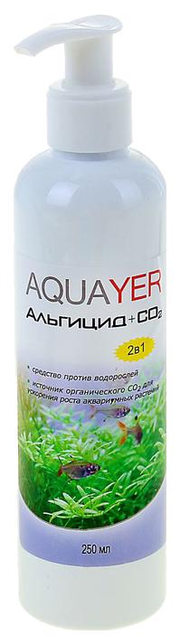 Средство для аквариумных растений Aquayer Альгицид+СО2 250мл