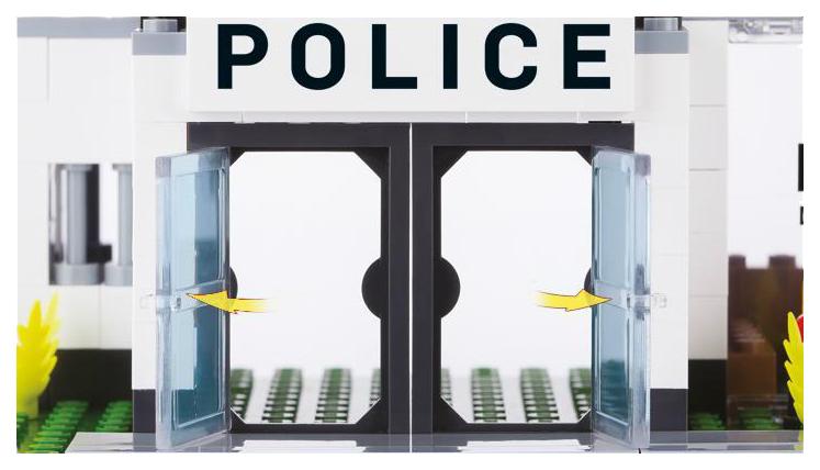 Купить Конструктор пластиковый COBI Полицейский участок,