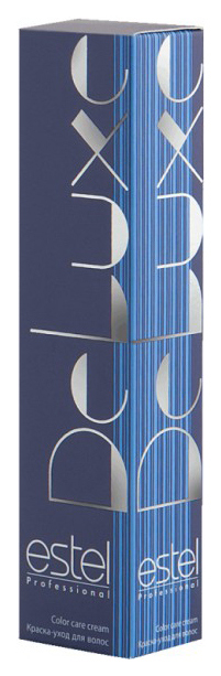 Краска для волос Estel Professional De Luxe 6/1 Темно-русый пепельный 60 мл