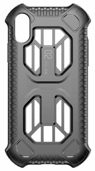 Чехол Baseus Cold Front (WIAPIPH65-LF01) для iPhone Xs Max (Black)