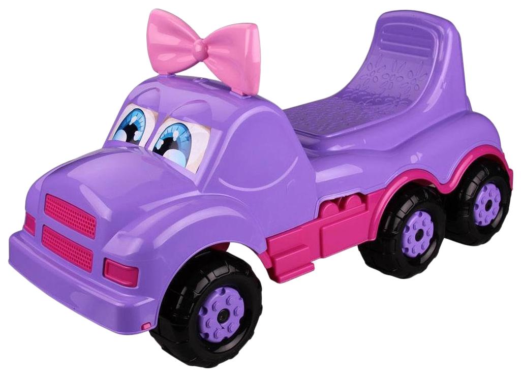 Купить Каталка-машинка Весёлые гонки фиолетовая, Веселые гонки, Машинки каталки
