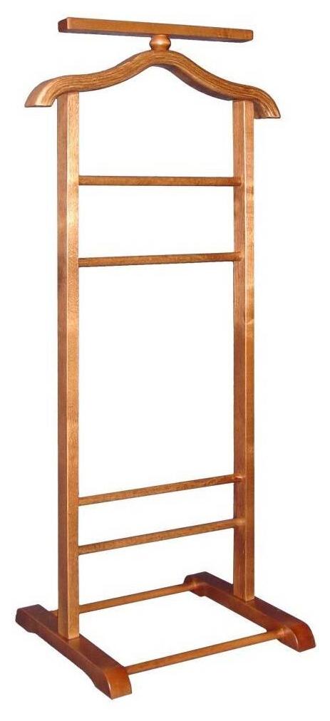Вешалка костюмная Мебелик В 6Н Средне коричневый