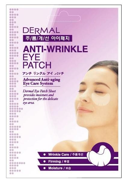 Патчи для глаз Dermal Anti Wrinkle