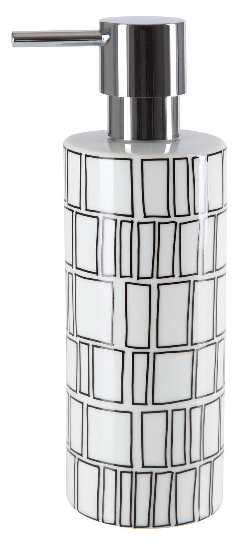 Дозатор для жидкого мыла Spirella Visby Белый