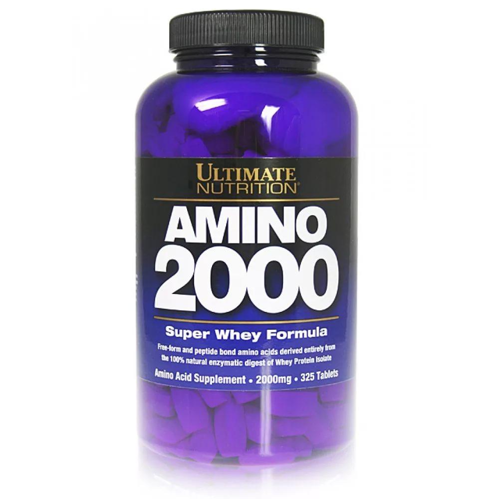 Ultimate Nutrition Amino Gold 325 таблеток без вкуса