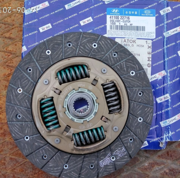 Диск сцепления Hyundai KIA 4110022716