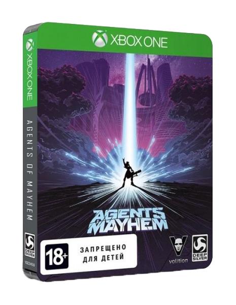 Игра Agents of Mayhem Steelbook Edition для Xbox One фото
