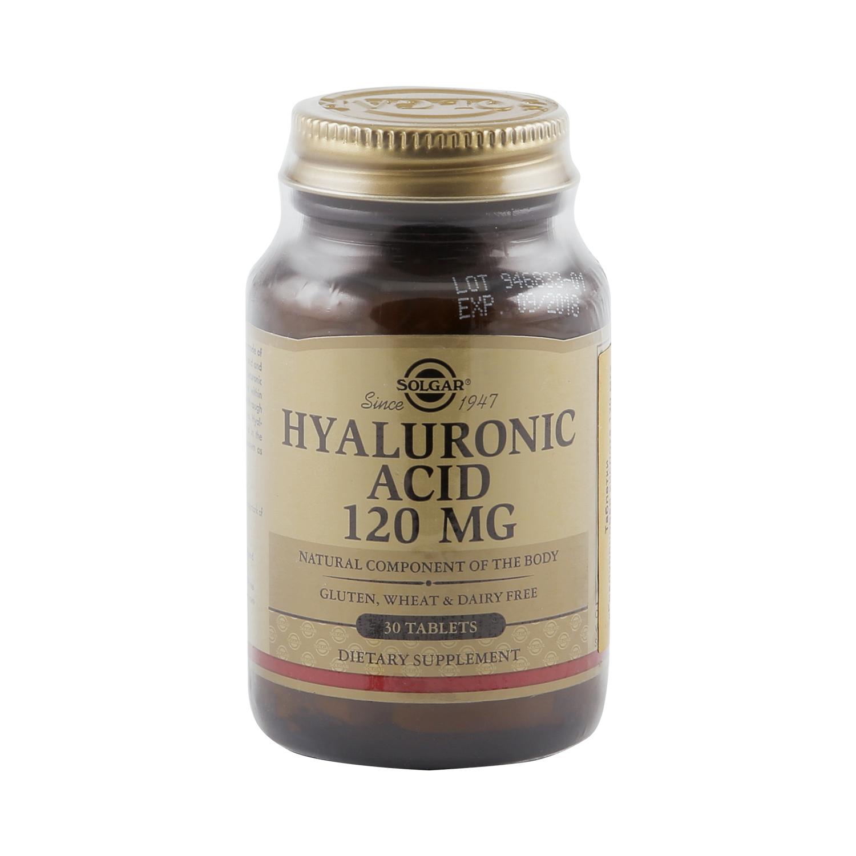Гиалуроновая кислота Solgar таблетки 120 мг