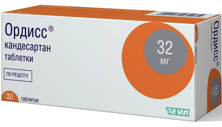Ордисс таблетки 32 мг 30 шт.