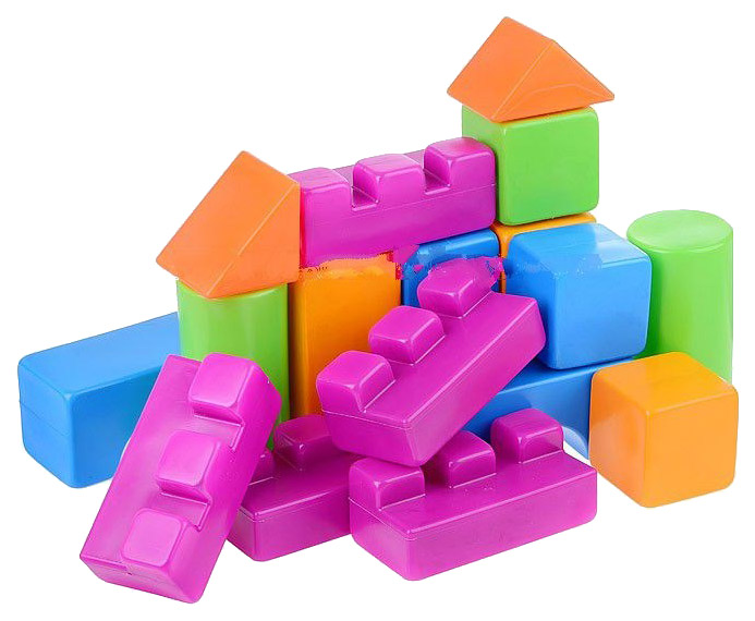 Купить Конструктор пластиковый Нордпласт Р51954 в ассортименте, НОРДПЛАСТ, Детские конструкторы