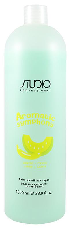 Бальзам для волос Kapous Aromatic Symphony Банан и дыня 1 л
