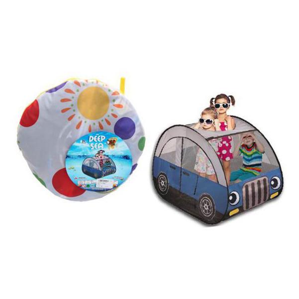 Палатка игровая НАША ИГРУШКА Машинка 985-Q78