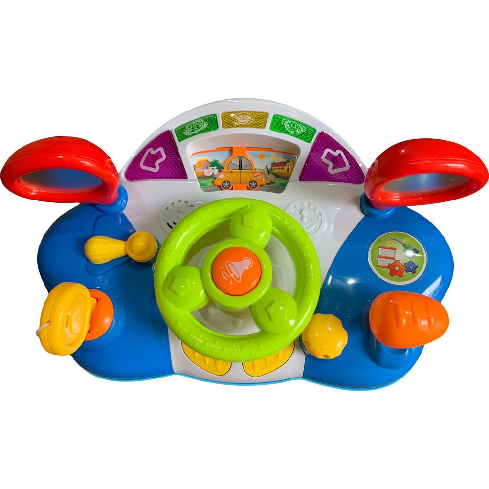 картинка Музыкальная игрушка Huggeland Руль от магазина Bebikam.ru